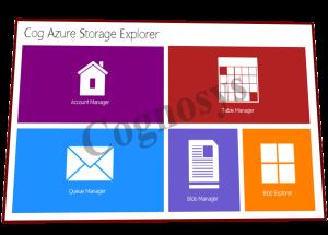 Cog Azure Storage Explorer